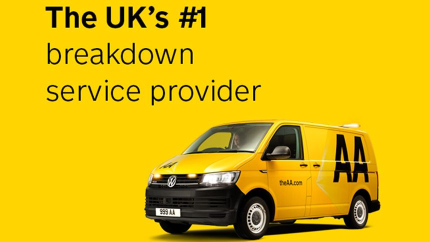 AA Breakdown Cover - Volunteer & Charity Workers exclusive from £4 per month