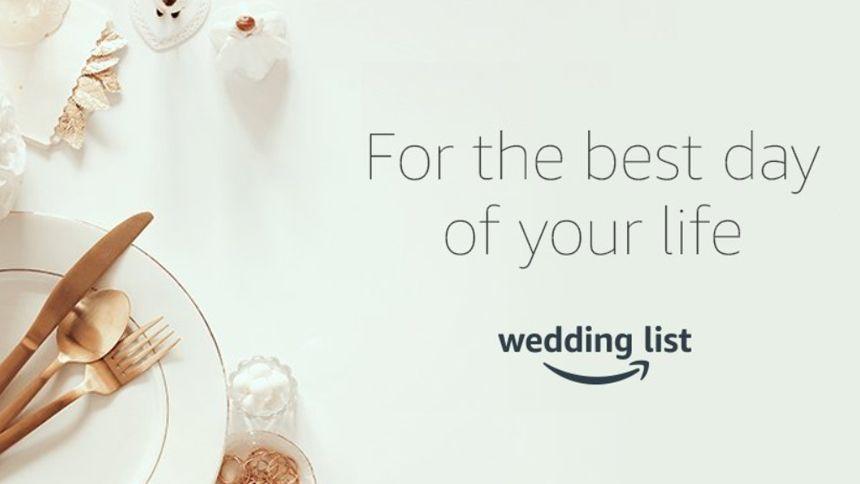 Amazon Wedding List - Build your perfect wedding gift list