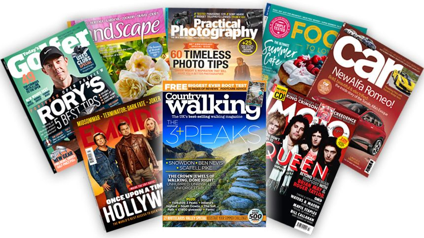 Great Magazines. Up to 35% off 12 months subscriptions