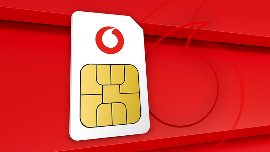 Vodafone SIMO Unlimited Data - £23 a month