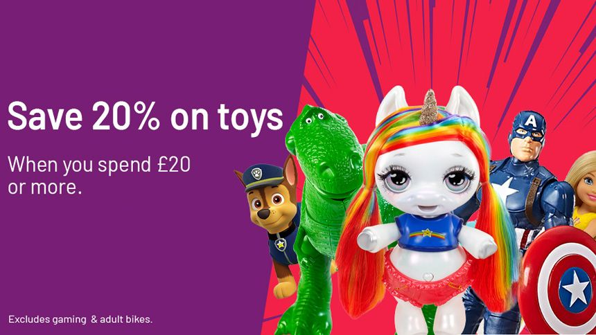 Argos Toy Event. Save 15% on Paw Patrol, Hatchimals & Meccano
