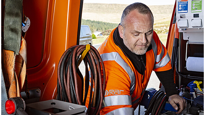 RAC Breakdown Cover - From just £6 a month*