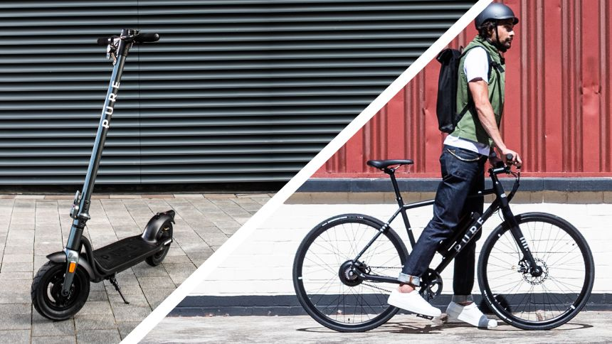 Pure Electric e-scooters & e-bikes - 5% Volunteer & Charity Workers discount