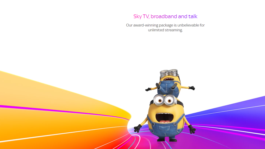 Exclusive Sky Superfast Broadband with WIFI Guarantee' - £28.50 for 18 months + £0 set up