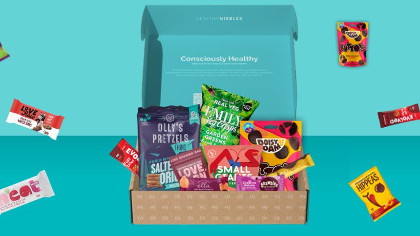 Healthy Nibbles Snacking Solutions - 15% off your first box and 10% off every box afterwards