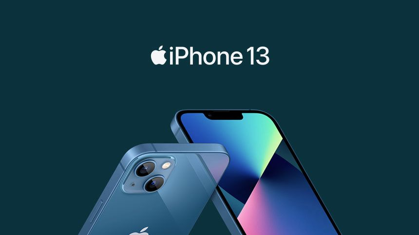 New iPhone 13 Pro - £0 upfront + £56 a month