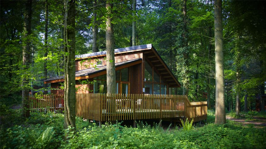 Luxury Woodland Lodges - 10% Volunteer & Charity Workers discount