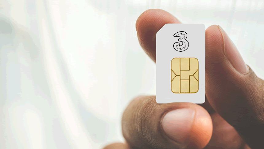 Advanced SIM Plan - 4GB data only £6 a month