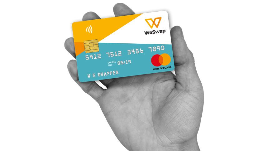 WeSwap Travel Card - £15 free travel money for Volunteer & Charity Workers