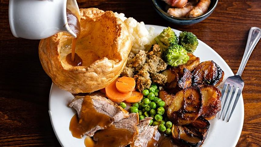 Toby Carvery. 20% off food bill