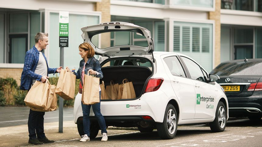 Enterprise Car Club - 80% off annual membership for Volunteer & Charity Workers