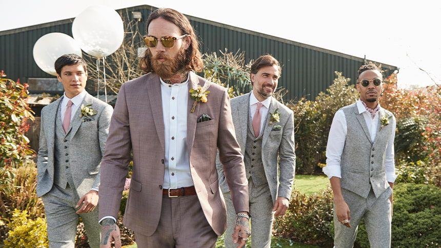 Men's Suits and Formalwear - 22% Volunteer & Charity Workers discount